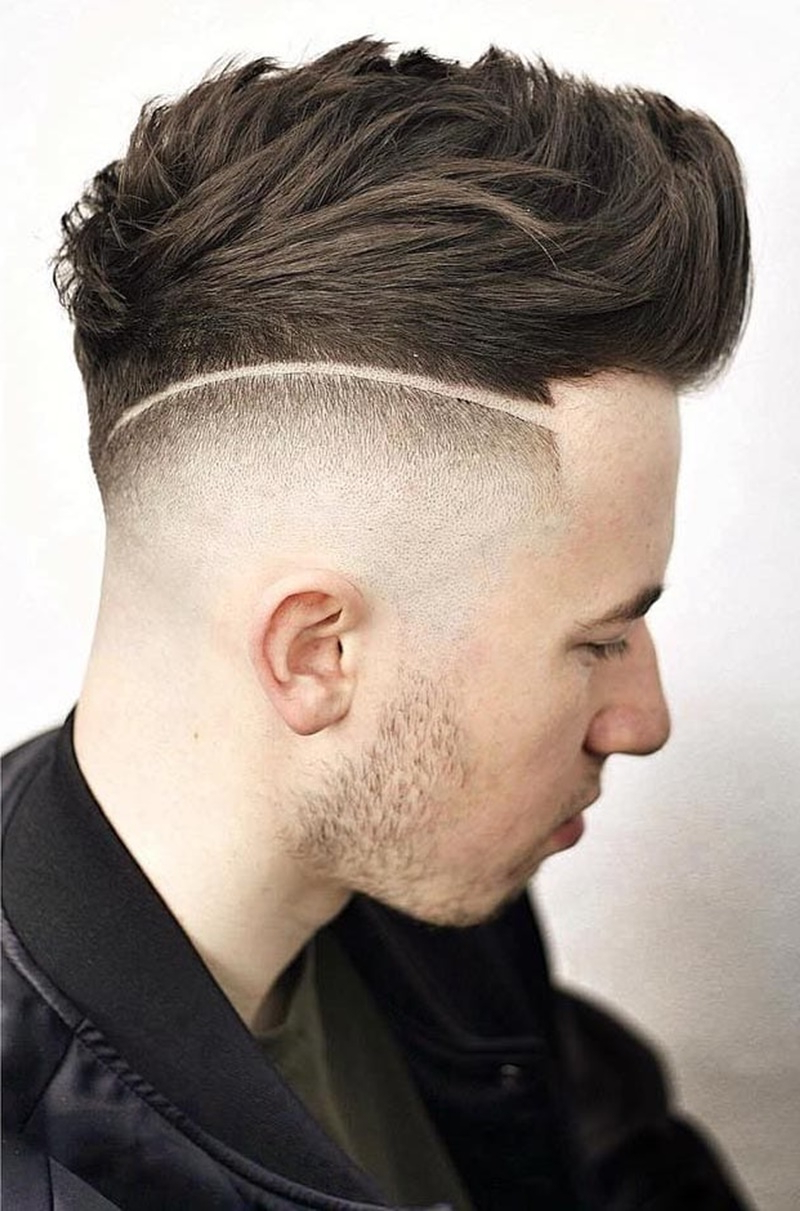 Well Known Mohawk Haircuts With Curls For A Feathered Bird In 88 Soothing Faux Hawk Haircuts For Men! (Gallery 19 of 20)