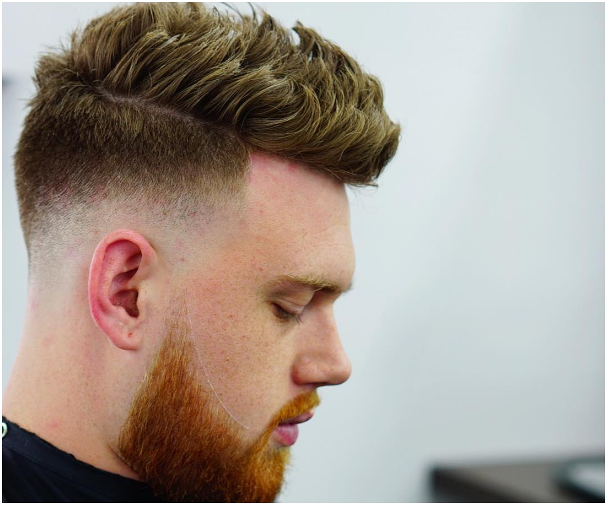 Well Known Sharp And Clean Curly Mohawk Haircuts With 21 Latest Short Hair Styles For Mens ! 2019 Inspiration } (View 10 of 20)