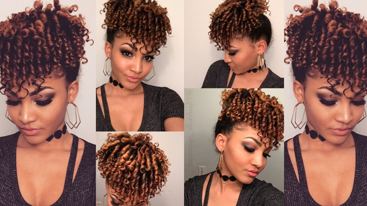 Well Liked Curly Faux Mohawk Hairstyles With Regard To Curly Faux Mohawk Tutorial (Gallery 10 of 20)