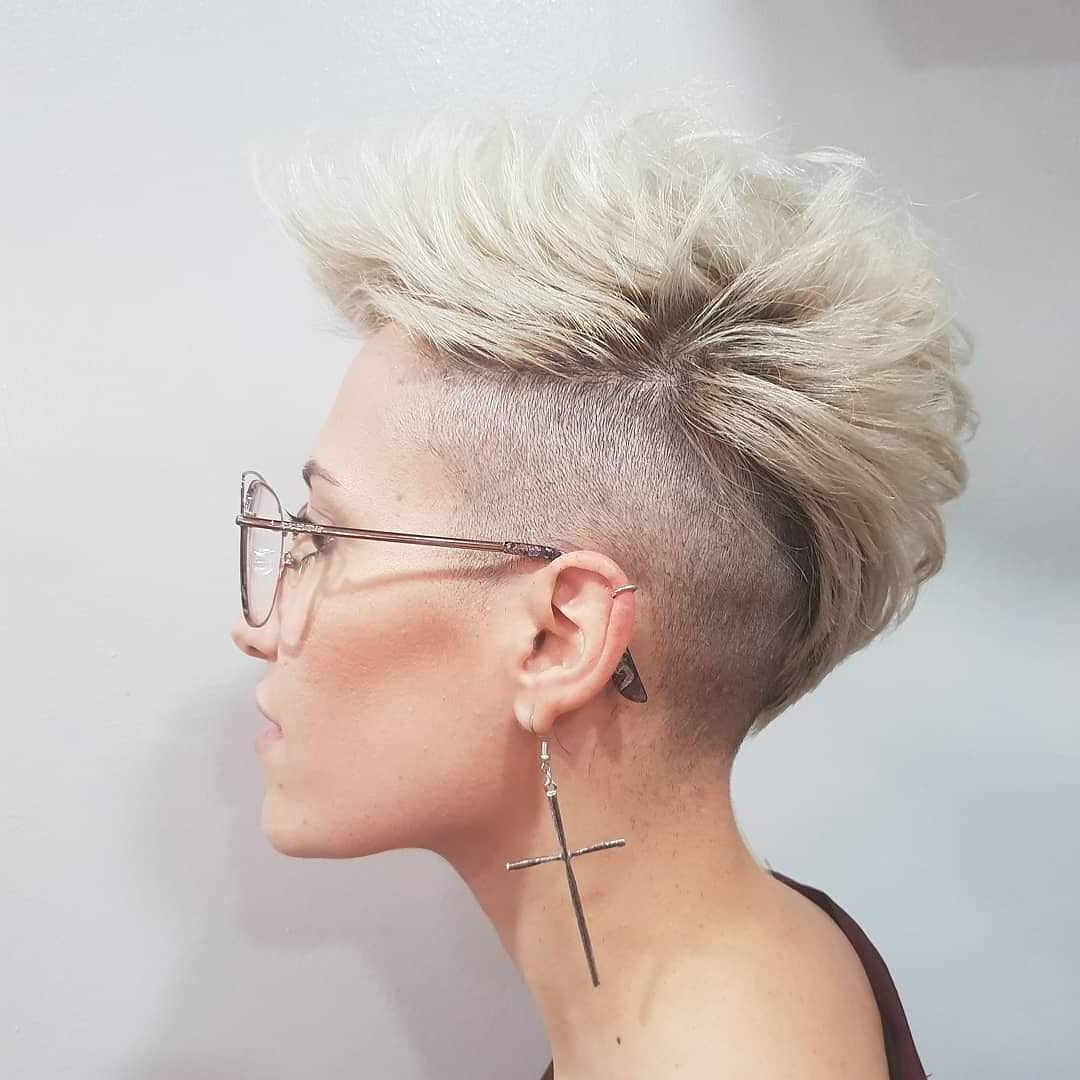 Well Liked Hot Red Mohawk Hairstyles Within Hot Short Hairstyles For Women In 2019 » Short Hairstyles (View 20 of 20)
