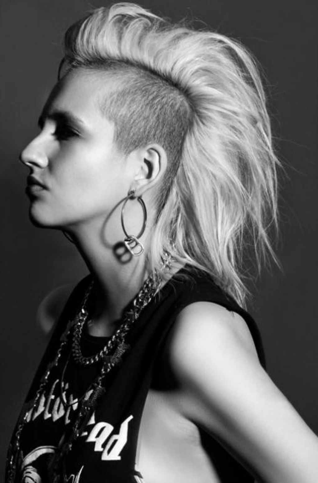 Well Liked Medium Length Mohawk Hairstyles With Shaved Sides Inside Punk Hairstyles Are Not Only For Punk Bands : Simple (View 20 of 20)