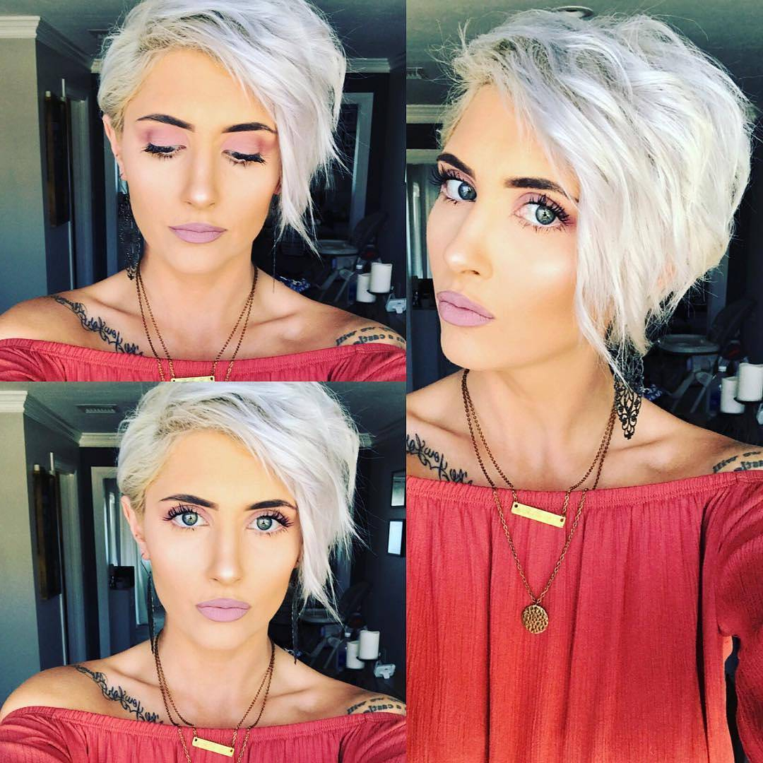 10 Amazing Short Hairstyles For Free Spirited Women! Short Within Sunset Inspired Pixie Bob Hairstyles With Nape Undercut (Gallery 18 of 20)