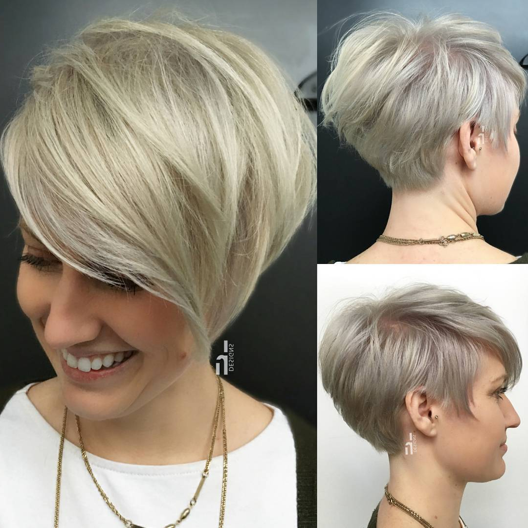 10 Daring Pixie Haircuts Für Frauen, Kurze Frisur Und Farbe In Long Pixie Haircuts With Sharp Layers And Highlights (View 8 of 20)
