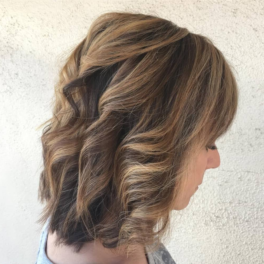 10+ Hottest Medium Length Layered Haircuts & Hairstyles For 2019 Intended For Current Medium To Long Feathered Haircuts (Gallery 10 of 20)