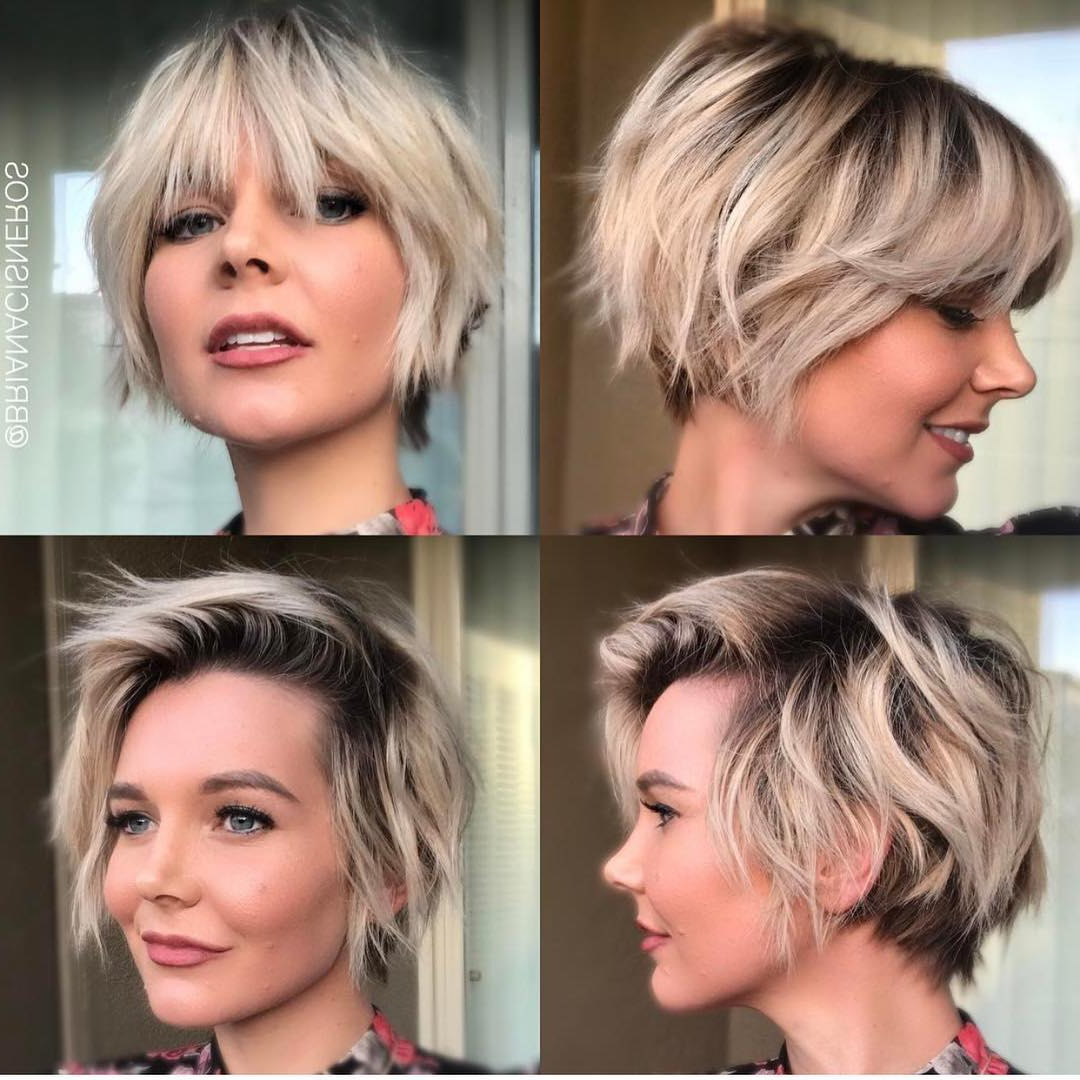 10 Short Shag Hairstyles For Women 2020 With Regard To Platinum Short Shag Haircuts (Gallery 6 of 20)