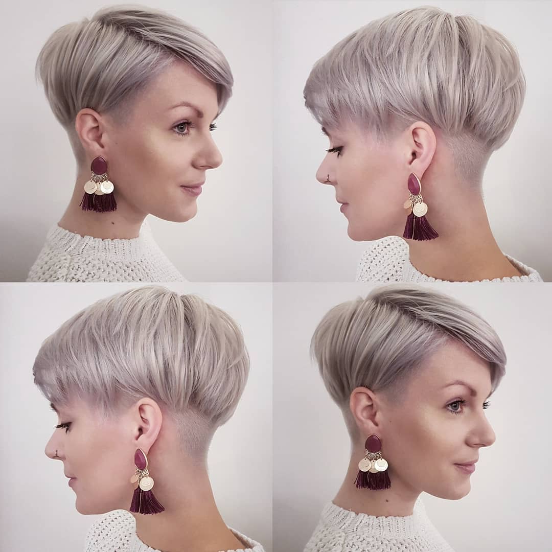 10 Stylish Pixie Haircuts In Ultra Modern Shapes, Women Throughout Edgy Ash Blonde Pixie Haircuts (View 8 of 20)