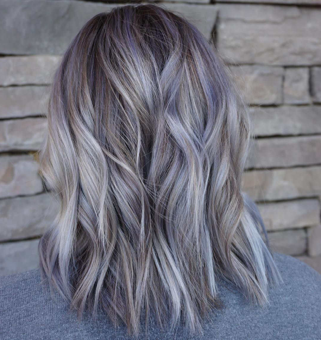 10 Wavy Haircuts For Medium Length Hair – Color Me Gorgeous Intended For 2018 Mid Length Layered Ash Blonde Hairstyles (View 4 of 20)
