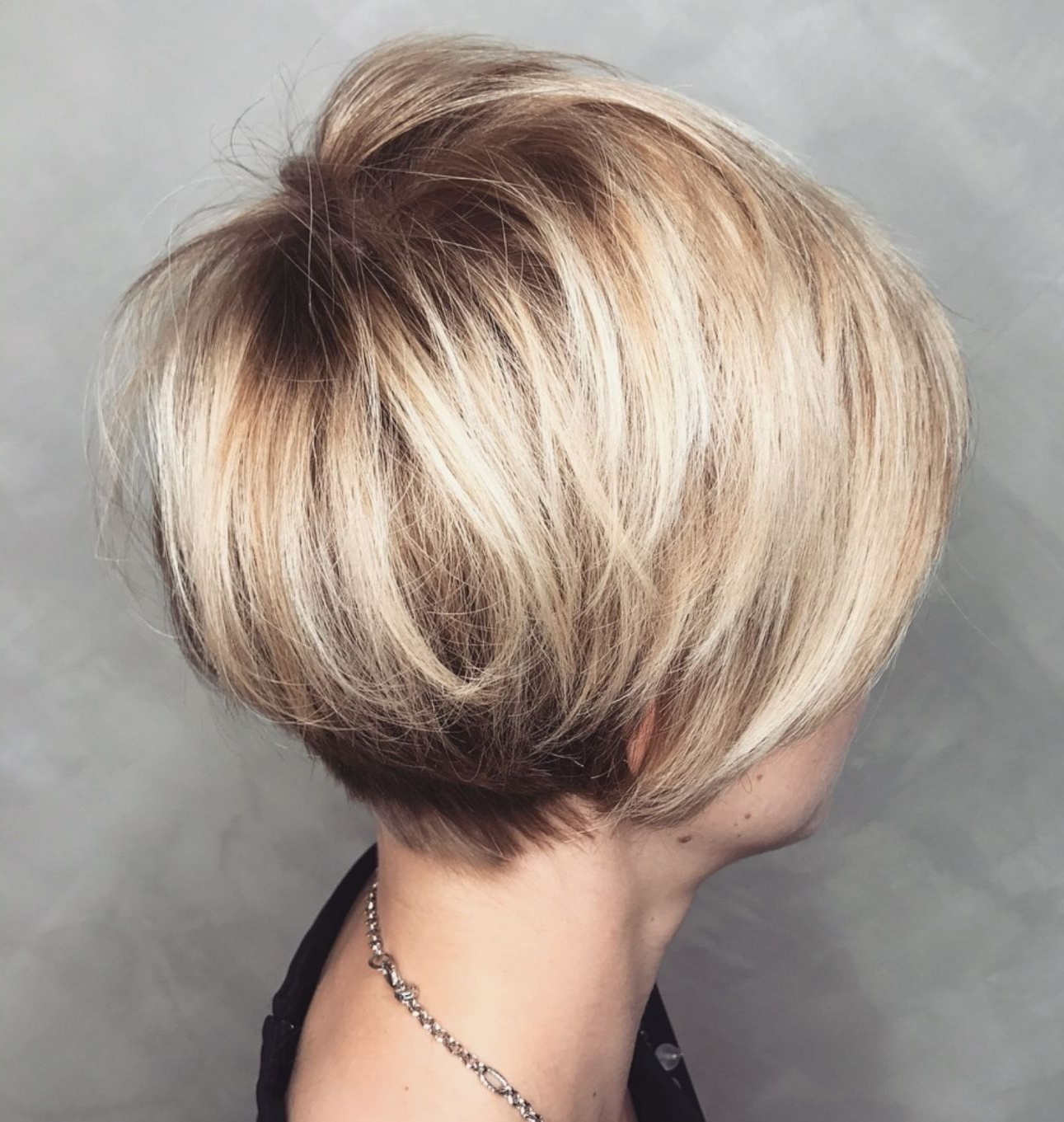 100 Mind Blowing Short Hairstyles For Fine Hair In 2019 With Regard To Long Pixie Haircuts With Sharp Layers And Highlights (Gallery 16 of 20)