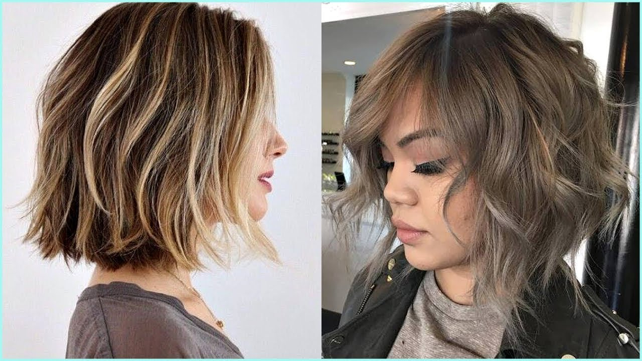 11 Beautiful Bob Haircuts 2018 ❤️ Choppy Bob Haircuts For Women Pertaining To Jaw Length Choppy Bob Hairstyles With Bangs (View 16 of 20)