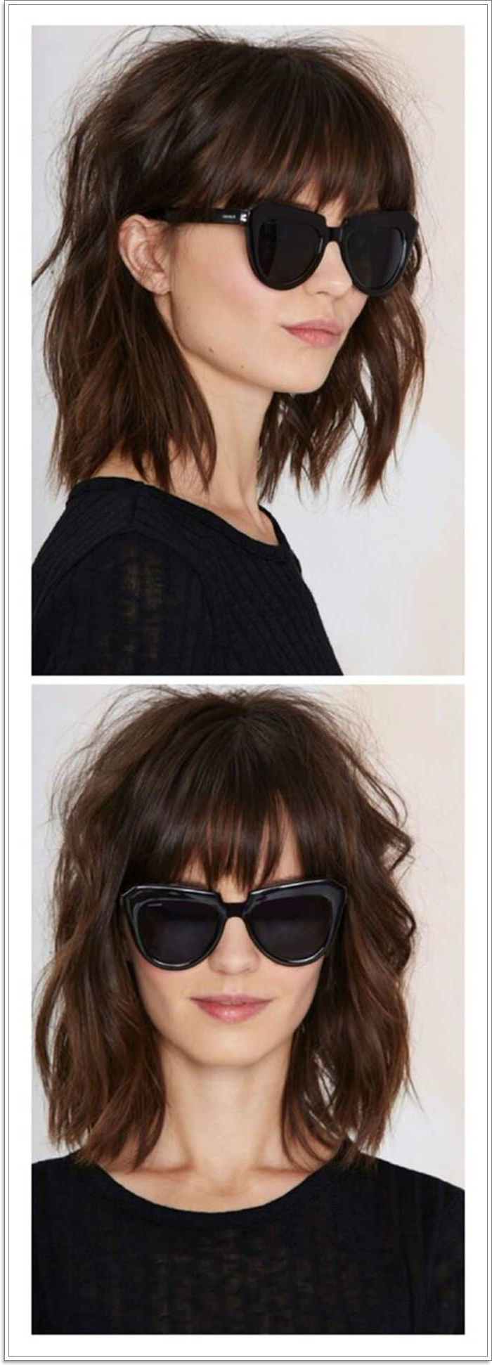 111 Hairstyles With Different Bangs Regarding 2017 Perfect Bangs And Wild Layers Hairstyles (View 1 of 20)