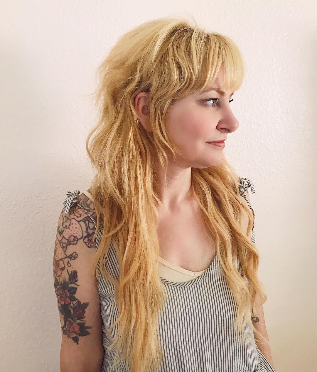 125 Coolest Shag Haircuts For All Ages – Prochronism Intended For 2018 Subtle Ombre Shag Haircuts (View 18 of 20)