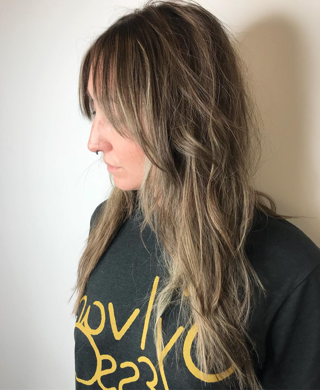 125 Coolest Shag Haircuts For All Ages – Prochronism Regarding Well Known Natural Layers And Ombre Highlights Long Shag Hairstyles (View 2 of 20)