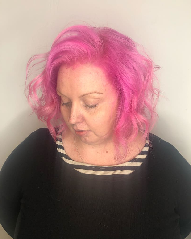 125 Coolest Shag Haircuts For All Ages – Prochronism With Pink Shaggy Haircuts (View 14 of 20)