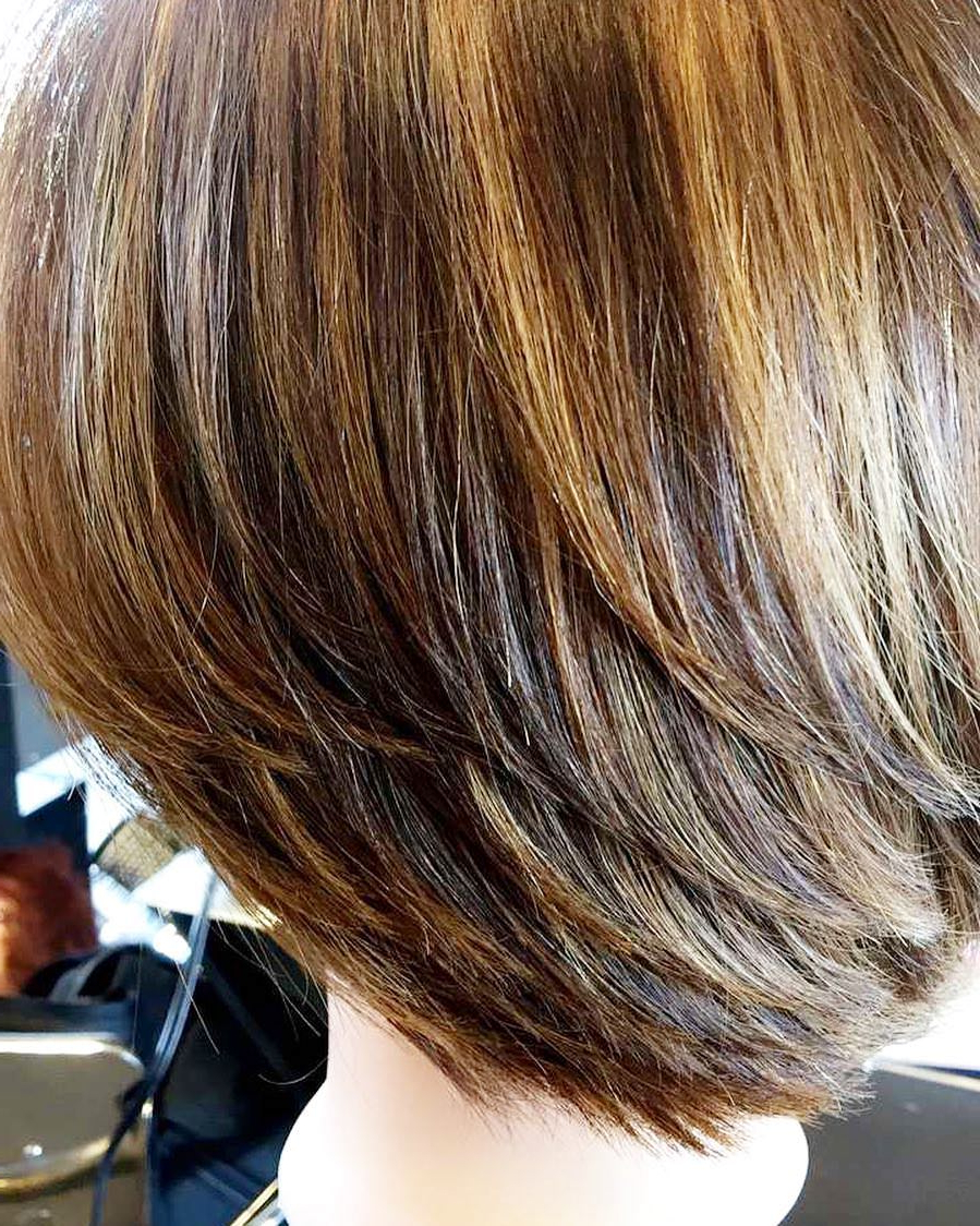 125 Gorgeous Short Layered Hairstyles For All Hair Types For Short Shag Haircuts With Sass (View 1 of 20)