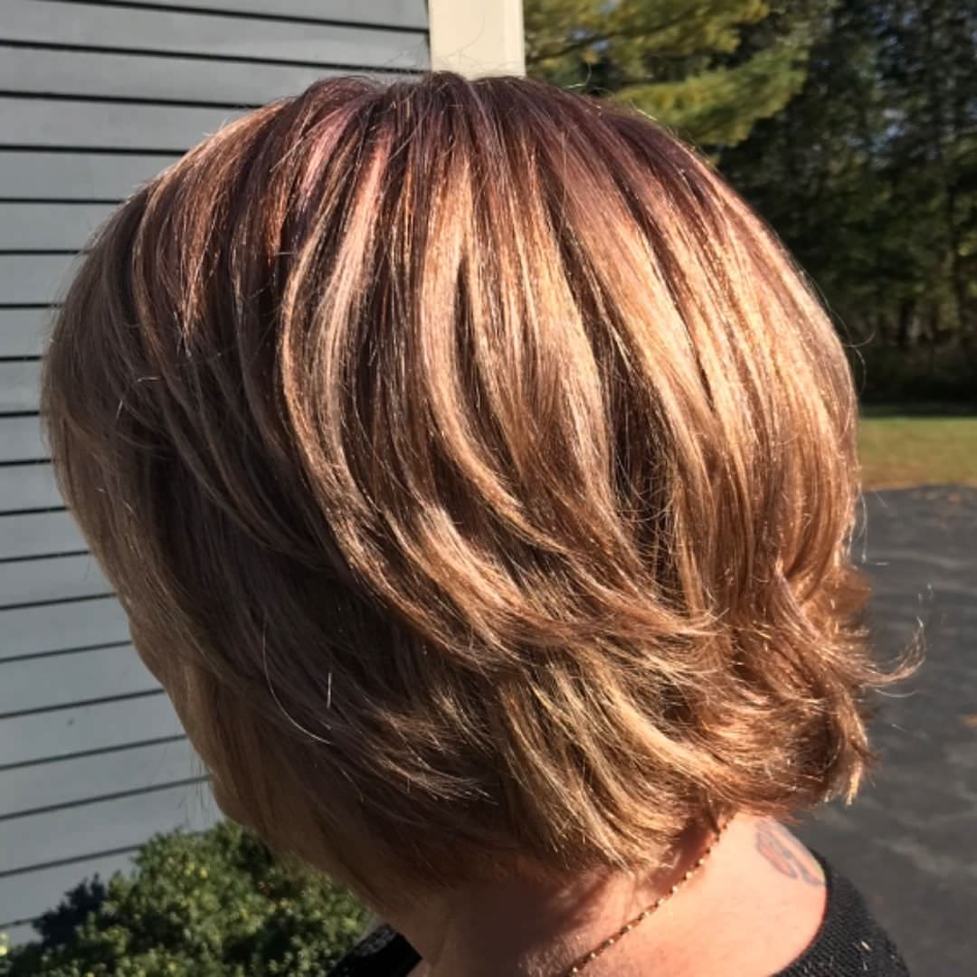 125 Gorgeous Short Layered Hairstyles For All Hair Types Intended For Short Shag Haircuts With Sass (View 16 of 20)