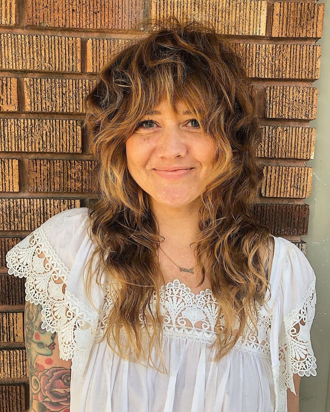 14 Cute Shag Haircut Ideas For Any Length — Shag Hair Trend In Shaggy Haircuts With Bangs And Longer Layers (View 8 of 20)