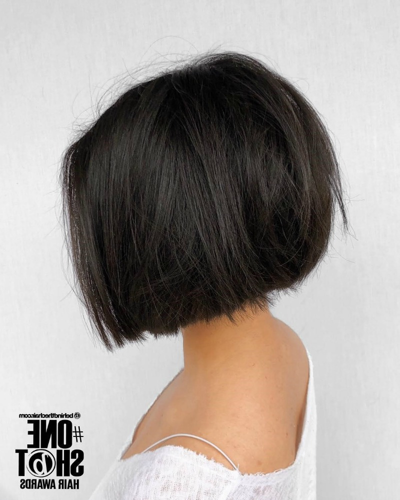 15 Chic Choppy Bob Haircuts For 2018 Intended For Shoulder Length Choppy Hairstyles (Gallery 14 of 20)