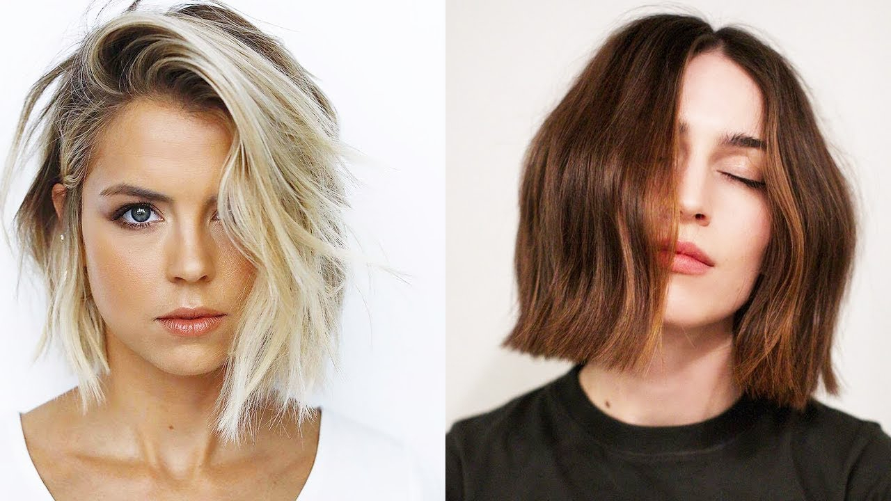 15 Chin Length Bob Hairstyles & Haircuts That Totally Rock | Bob Cuts 2019 For Straight Wispy Jaw Length Bob Hairstyles (View 12 of 20)