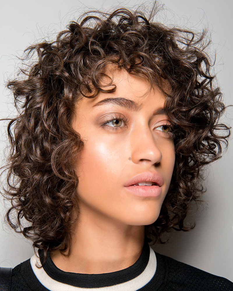 19 Gorgeous Curly Haircuts That Show Off Your Natural Texture Intended For Textured Curly Bob Haircuts (View 14 of 20)