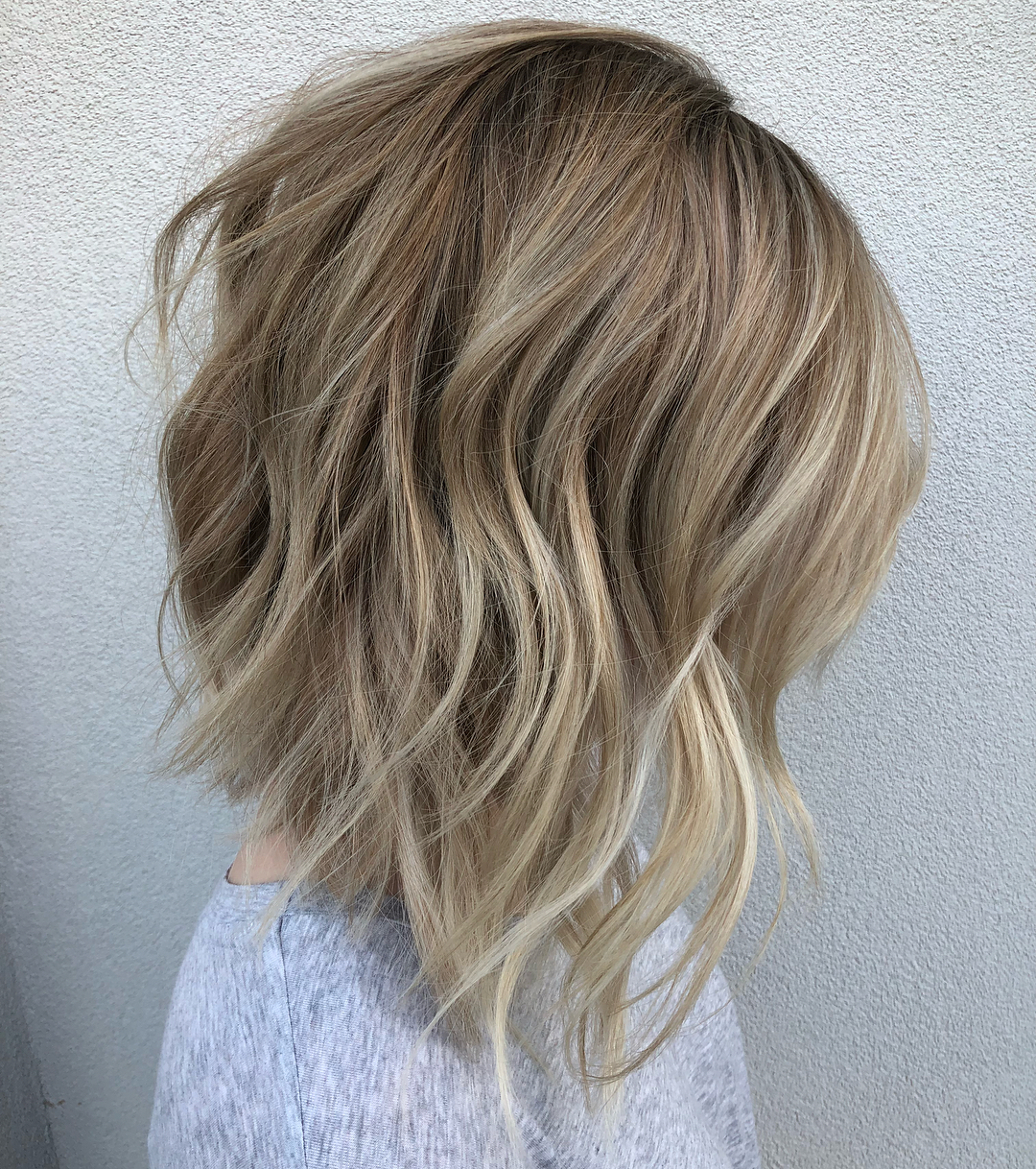20 Bob Haircuts For Fine Hair To Try In 2019 For Short Bob Hairstyles With Textured Waves (View 3 of 20)