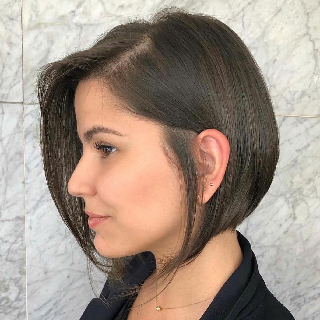 20 Bob Haircuts For Fine Hair To Try In 2019 Within Straight Wispy Jaw Length Bob Hairstyles (View 2 of 20)
