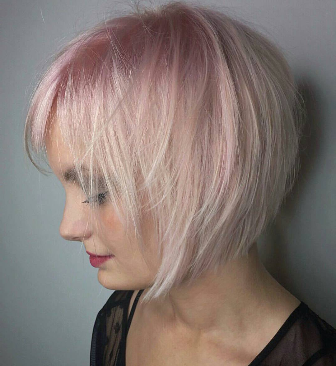20 Fabulous Summer Hair Color Ideas – Amazing Hair Colours Throughout Short Sliced Metallic Blonde Bob Hairstyles (View 5 of 20)