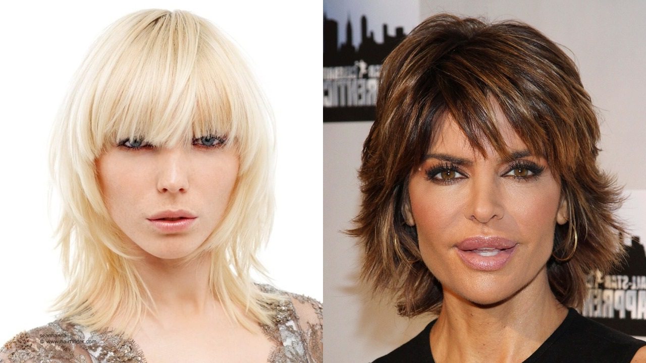 20 Sassy And Sultry Medium Shaggy Hairstyles – Haircuts Throughout 2017 Perfect Bangs And Wild Layers Hairstyles (View 2 of 20)