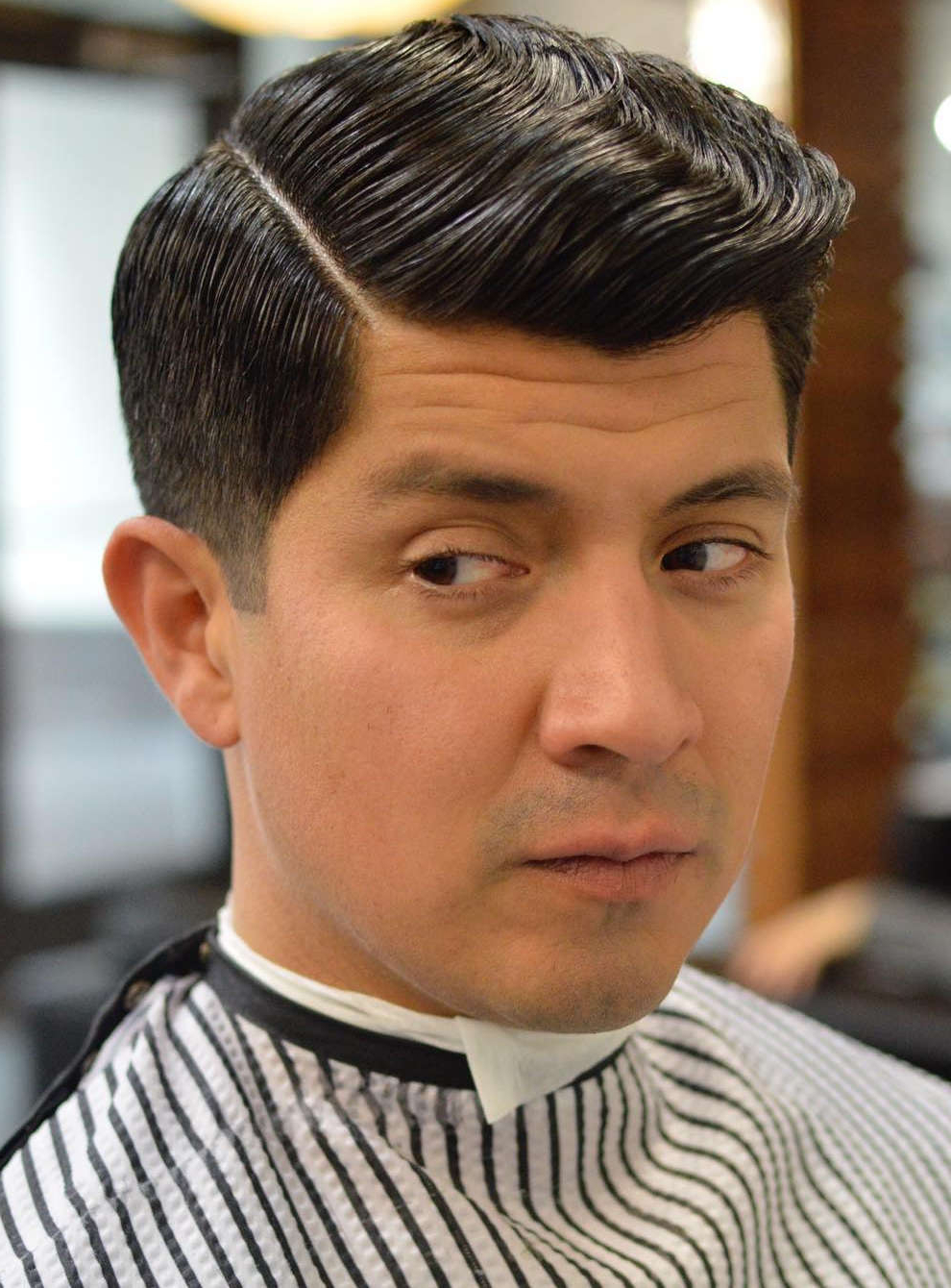 20+ Selected Haircuts For Guys With Round Faces Intended For Brushed Back Hairstyles For Round Face Types (View 11 of 20)
