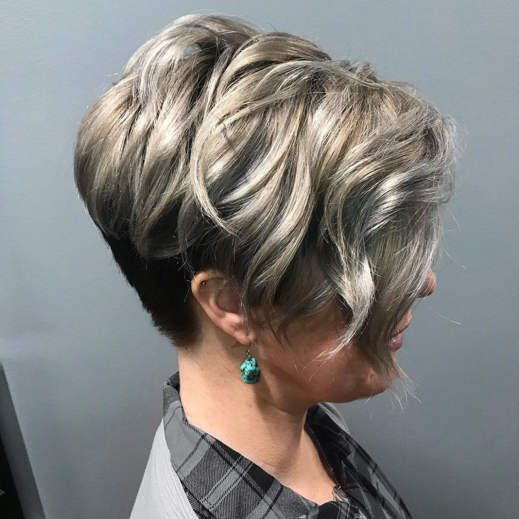 20 Sophisticated And Easy Professional Hairstyles For Women Pertaining To Sophisticated Wavy Ash Blonde Pixie Bob Hairstyles (View 3 of 20)