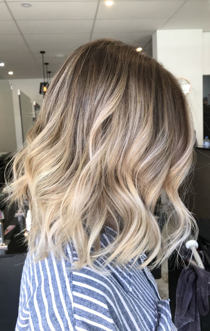 2017 Golden Bronde Sliced Bob Hairstyles Inside Lived In Hair Colour Blonde Bronde Brunette Golden Tones (View 1 of 20)