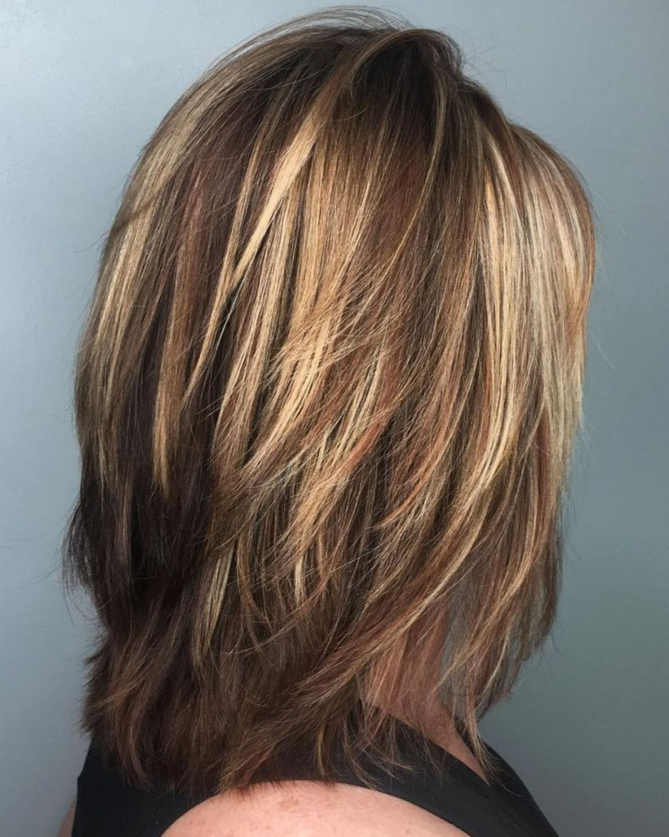 2017 Medium To Long Feathered Haircuts Regarding 70 Brightest Medium Layered Haircuts To Light You Up (View 2 of 20)