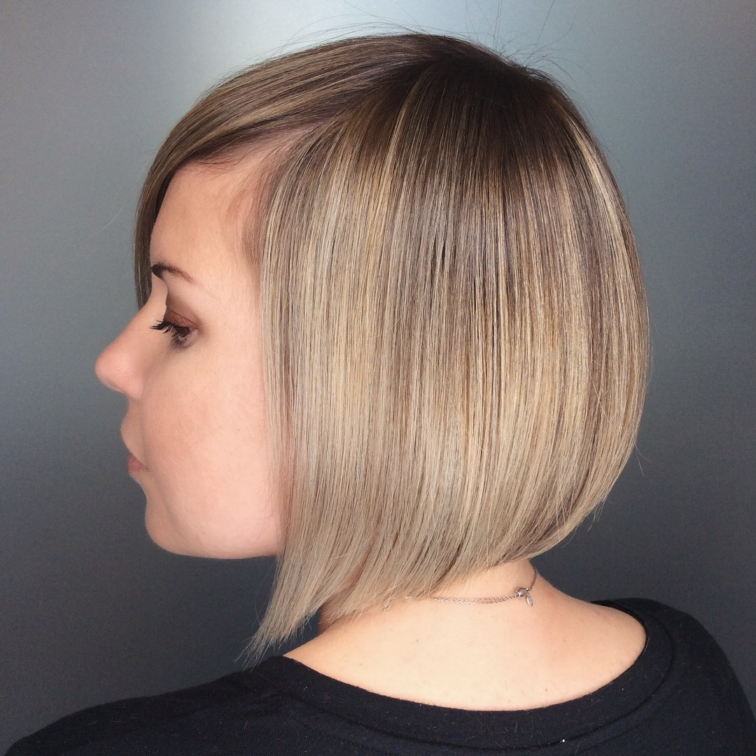 2017 Sharp Shag Haircuts With Razored Layers With Regard To 50 Most Flattering Bob Haircuts For Round Faces – Hair (View 12 of 20)