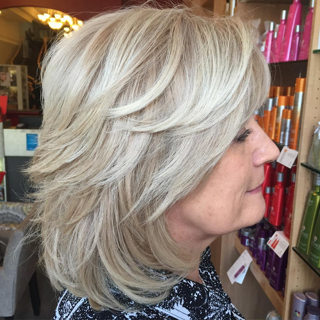 2017 Silver Shag Haircuts With Feathered Layers Throughout 26+ Short Shag Hairstyle Designs, Ideas (View 9 of 20)