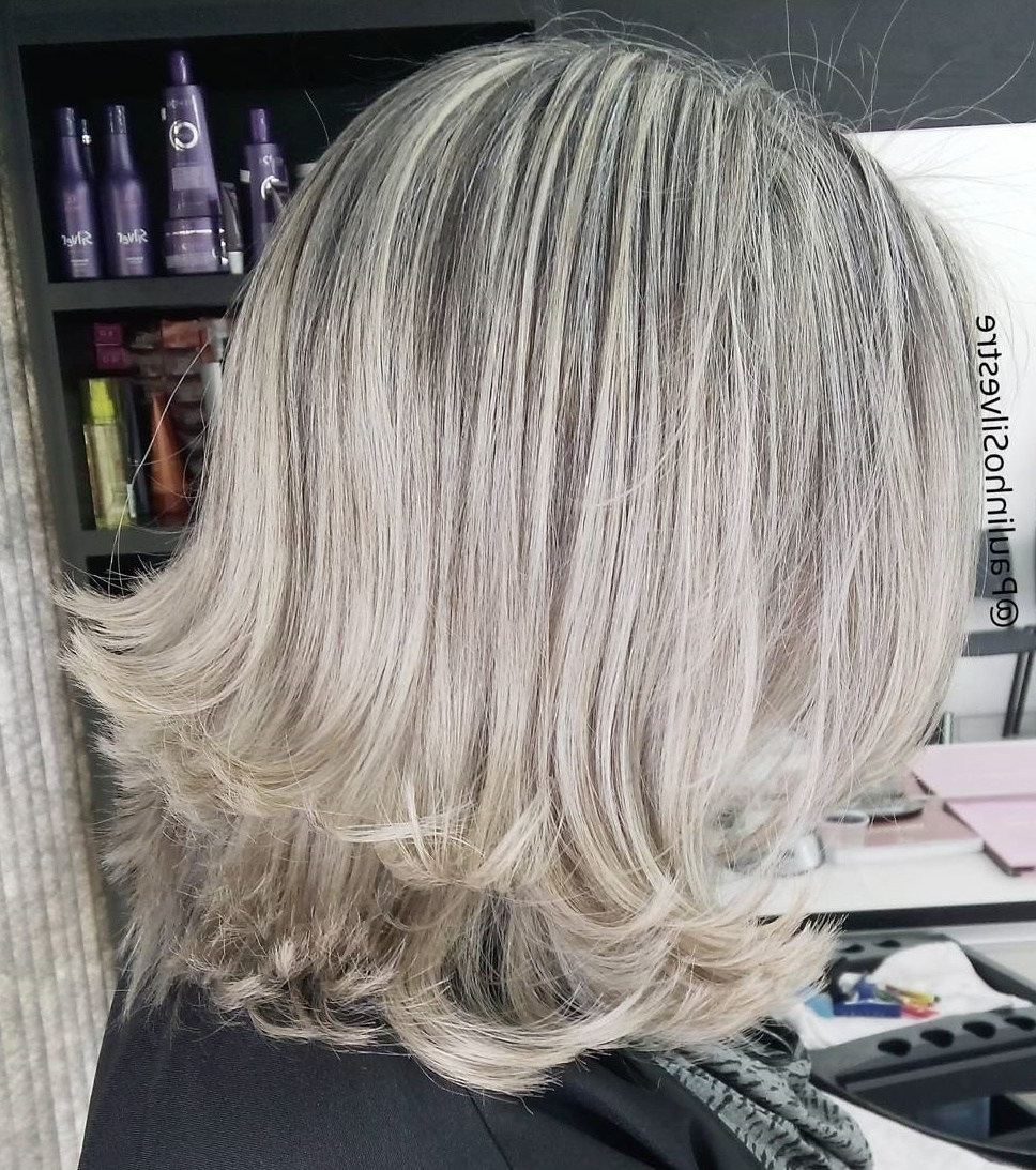 2018 Medium Silver Layers Hairstyles For 50 Fabulous Medium Length Layered Hairstyles – Hair Adviser (View 10 of 20)