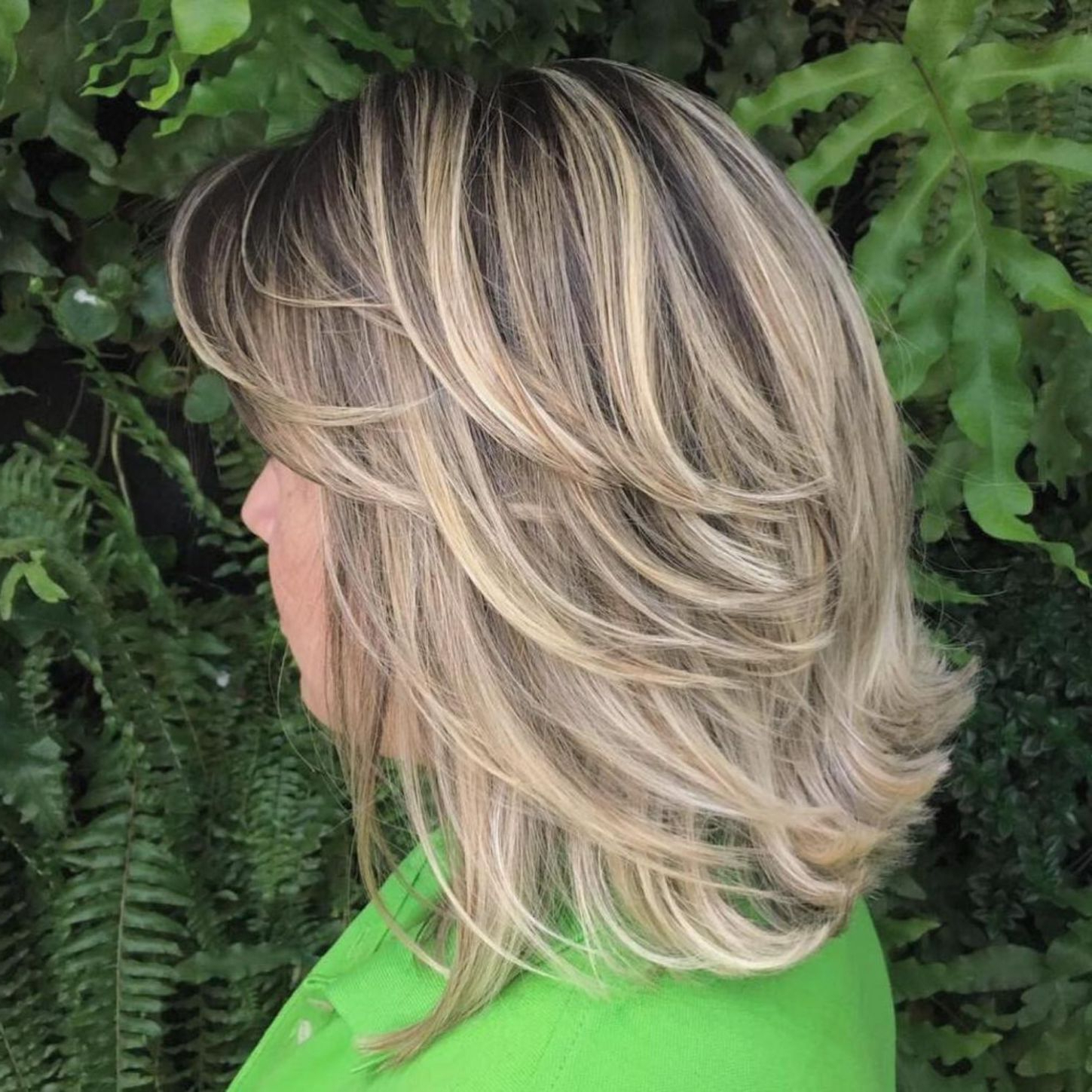 2019 Long Hairstyles With Short Flipped Up Layers Within Pin On Hair Styles (View 4 of 20)