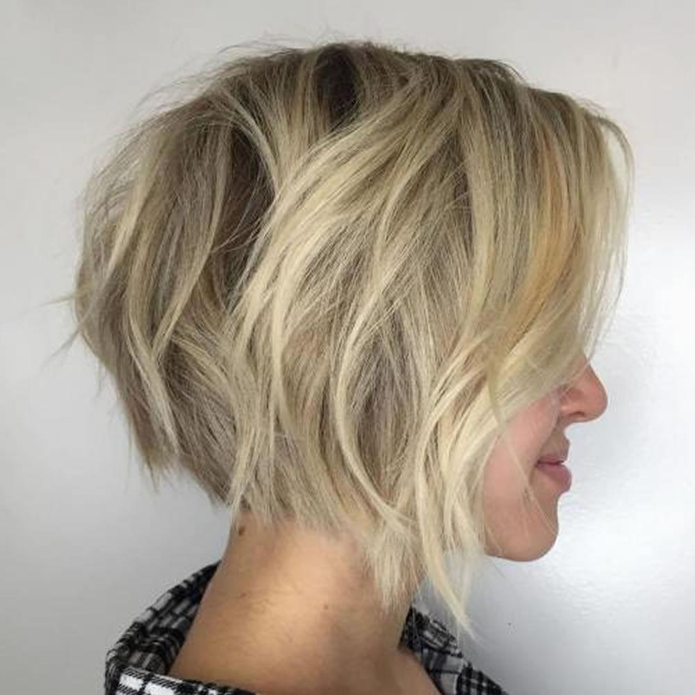 2019 Short Long Angled Bob Haircuts Is The Best Haircut For With Trendy Long Haircuts With Chunky Angled Layers (View 7 of 20)