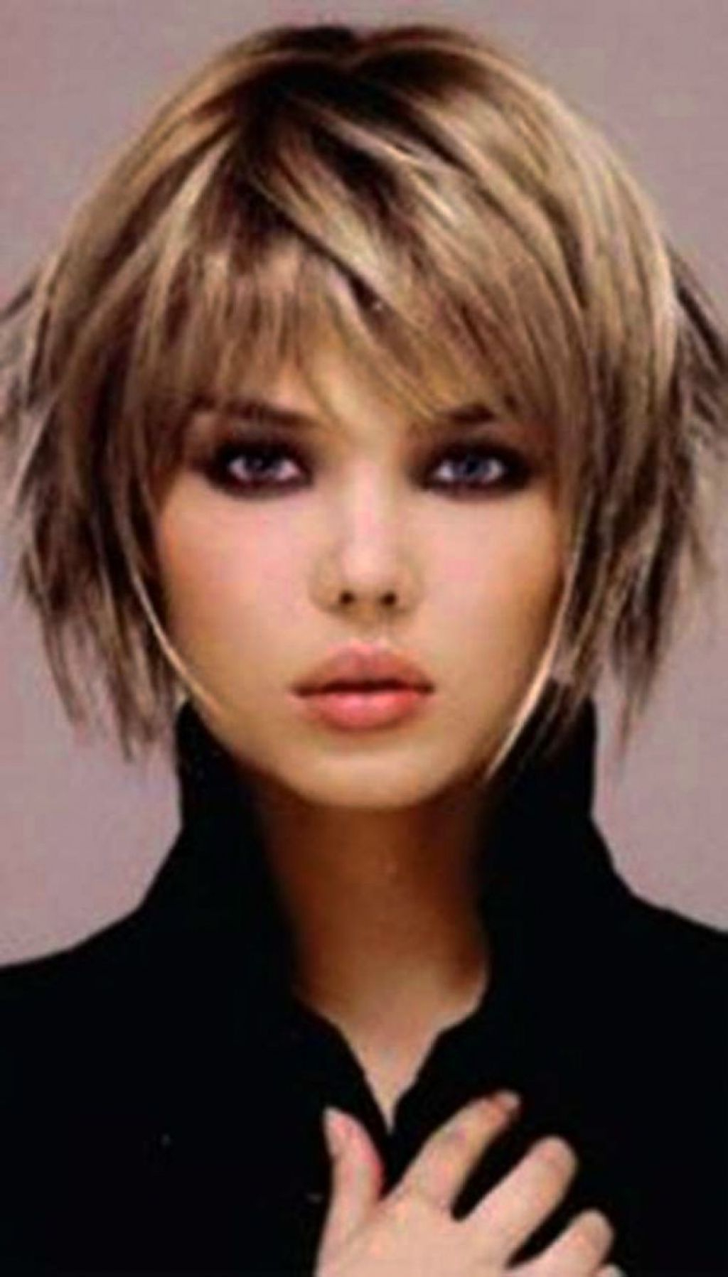 205 Shag Haircuts For Fine Hair | Shaggy Bob Hairstyles Pertaining To Very Short Shaggy Bob Hairstyles (View 2 of 20)