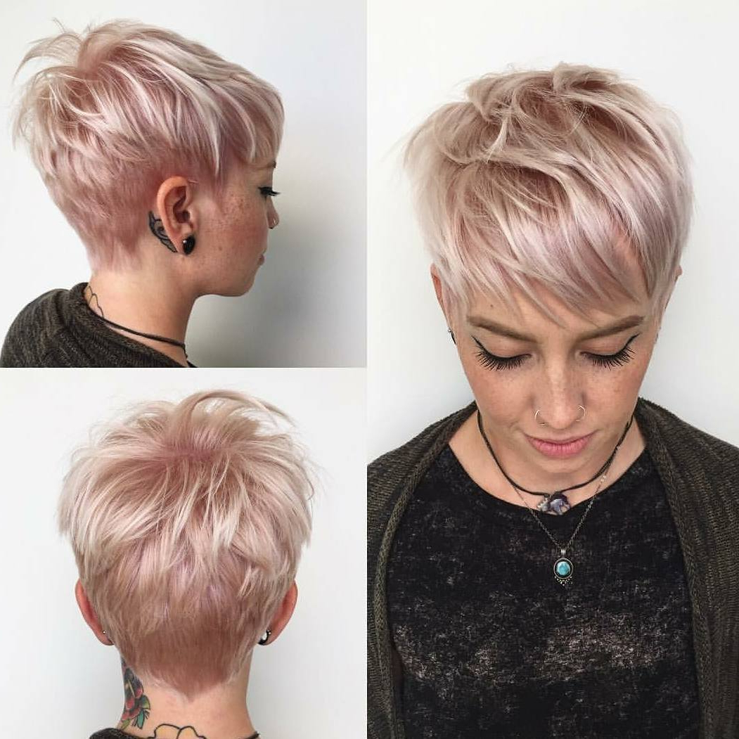 22 Everyday Short Hairstyles For Fabulous Look – Haircuts Within Minimalist Pixie Bob Haircuts (View 11 of 20)
