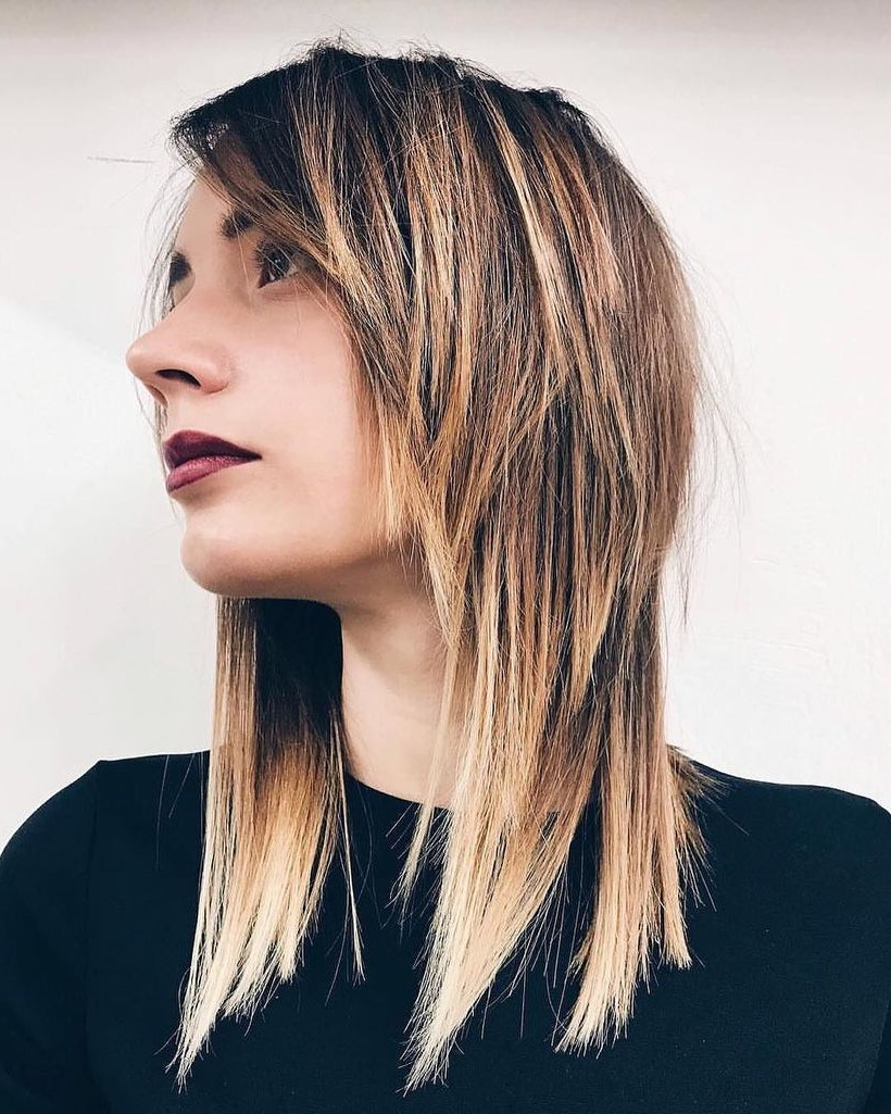 22 Modern Shag Haircut For Utter Stylish Look – Haircuts Intended For Most Popular Shoulder Grazing Flared Blonde Shag Haircuts (View 16 of 20)