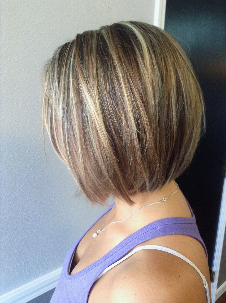 24 Coolest Short Hairstyles With Highlights | Fashion Health Pertaining To Short Bob Hairstyles With Highlights (View 2 of 20)