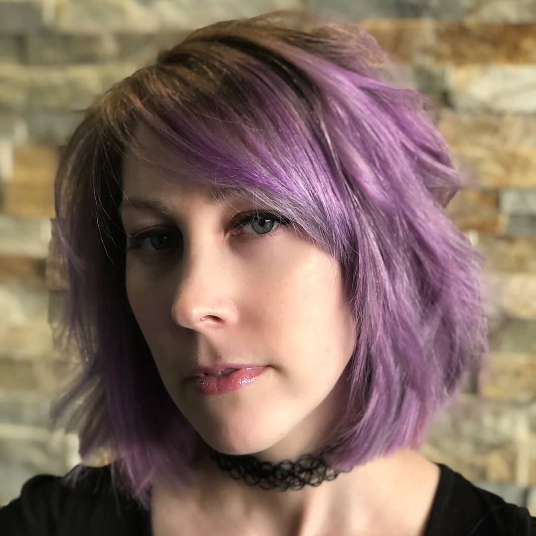 25 Charming Layered Bob Haircuts And Hairstyles Throughout Recent Marvelous Mauve Shaggy Bob Hairstyles (View 3 of 20)