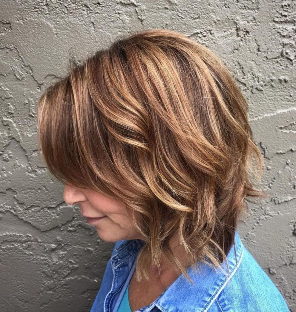 25 Most Prominent Hairstyles For Women Over 40 For Razored Honey Blonde Bob Hairstyles (View 12 of 20)