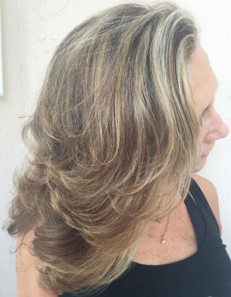 25 Most Prominent Hairstyles For Women Over 40 Within Most Up To Date Warm Brown Hairstyles With Feathered Layers (View 4 of 20)