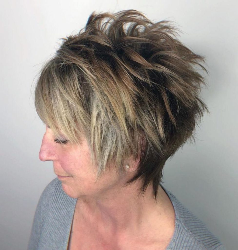 25 Most Prominent Hairstyles For Women Over 40 Within Razored Honey Blonde Bob Hairstyles (View 6 of 20)