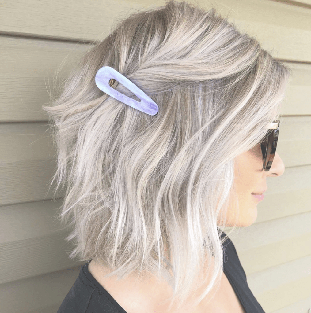 27 Chic Short Bob Hairstyles – Hairstyle On Point Intended For Short Sliced Metallic Blonde Bob Hairstyles (View 8 of 20)