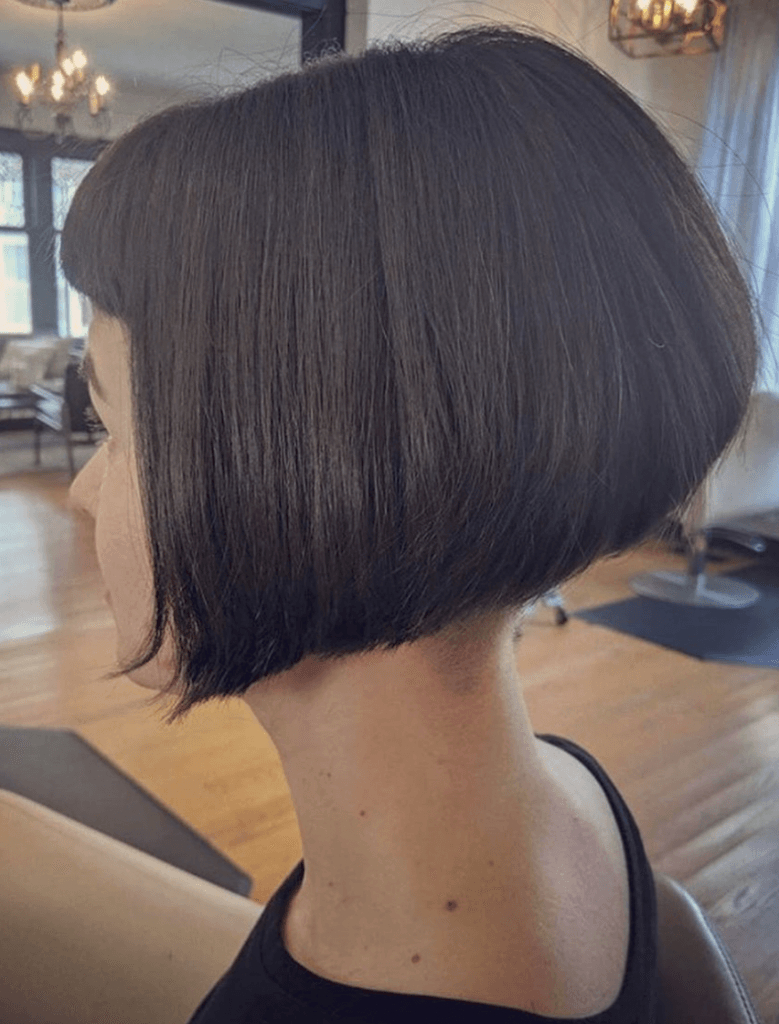 27 Chic Short Bob Hairstyles – Hairstyle On Point With Short Sliced Metallic Blonde Bob Hairstyles (View 10 of 20)