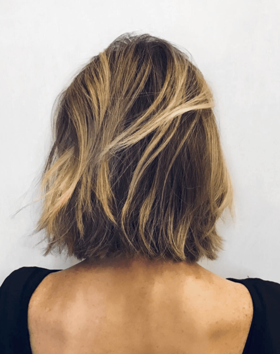27 Chic Short Bob Hairstyles – Hairstyle On Point Within Balayaged Choppy Bob Haircuts (View 12 of 20)