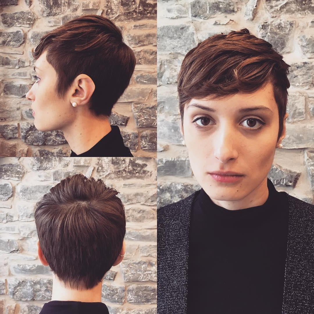 27 Hot Pixie Cuts To Copy In 2020 – Reviewtiful With Long Curly Pixie Haircuts With Subtle Highlights (View 8 of 20)