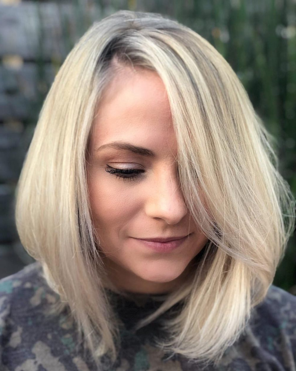 28 Most Flattering Bob Haircuts For Round Faces In 2019 Within Short Flip Haircuts For A Round Face (View 15 of 20)