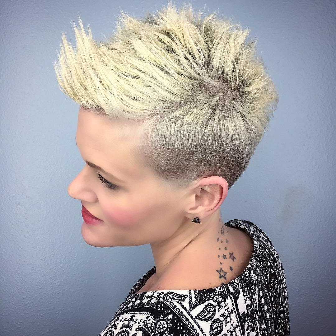 30 Funky Hairstyles For Short Hair – Look Bold And Hot With Regard To Messy Spiky Pixie Haircuts With Asymmetrical Bangs (Gallery 12 of 20)